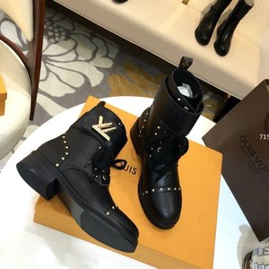 75 High Quality Women Big Size Comfortable Women Shoes Casual with Origin Box Luxury Star Trail Ankle Boot Women Shoes