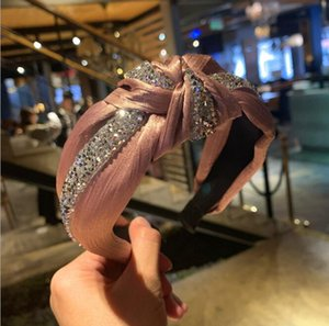 les femmes de cristal de mode Piques à cheveux filles bandeau femmes princesse design serre-tête cheveux accessoires pour designer les femmes Bandeaux GD480