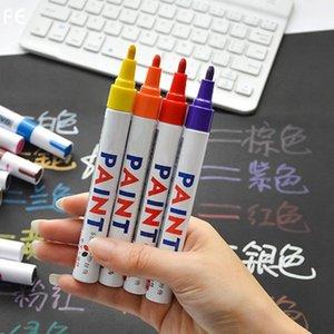 1pcs 11Colors Car Tire Paint Marker Pen Waterproof Car Paint Pen Scratch Repair Pen