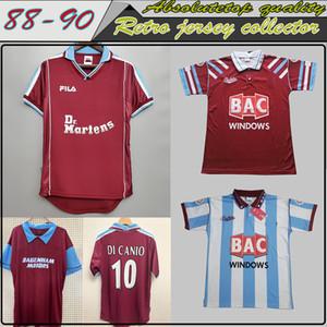 Retro Jahren 91 92 95 97 West-Centenary Cole Di Canio Lampard Dicks 1999 00 Trikot camiseta 100. Retro 99 00 Startseite Ham Retro Fußball-Trikot