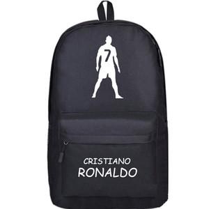 Cristiano Ronaldo zaino Cr7 calcio c zainetto resistente zaino sacchetto di scuola Calcio Casual Santos Aveiro zainetto giorno all'aperto pacchetto