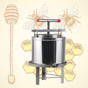 hot sale paraffin honey presser machine Manual Fully enclosed wax press machine Honey rolling mill waxing machine