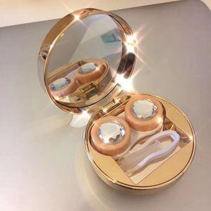 Schüler Nursing Glasses Zukunft Sinn Spiegel Spiegel mehrseitige Schnitt Glas glänzend unsichtbare Brille Begleiterkasten Pflegekasten