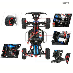 Freeshipping 12423 1:12 RC Car 2.4G 4WD Electric Brushed Short Course RTR RC Car Racing Car RTR