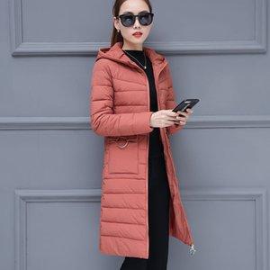 Women Thicken Parkas Hooded 2020 New Winter Coat Women Plus Size S-3XL Wadded Jacket Long Parka Gilrs Jaqueta Feminina C95