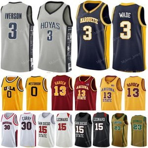 NCAA Irish St. Mary LeBron 23 James Jersey Kevin 35 Durant Jerseys James 13 Harden Russell 0 Westbrook Stephen 30 Curry Basketball Jersey