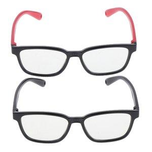 2x New Kids Computer Eye Glasses Blu-filtro di blocco Occhiali Telaio in silicone