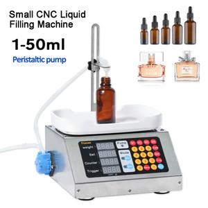 0-50ml Petit automatique CNC liquide Machine de remplissage 220V parfum pesage Machine de remplissage liquide Oral Solution de remplissage