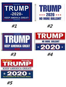 Горячая продажа Trump Flag 5 Стили Donald Флаги Держите президента Америки Great Опять Полиэстер Декор Баннер для США BWC26