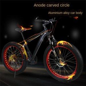 2020Cross-Бич Страна снег Алюминиевый сплав велосипед Расширен: Большая Tire 4.0 Скорость Mountain Bike Speed ZXC горные велосипеды Fat