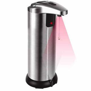 Drop Shoe Epack 250 мл автоматического датчика SEATOR Dispenser Dispenser Dispenser Dispensers Портативная нержавеющая сталь Инфракрасный датчик SEAD Диспенсер