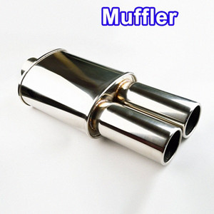 SALBEITECH Auto Exhaust Muffler Body Length 10