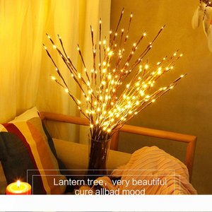LED Holiday Lights Christmas Branch Lights Friends Party Night Lights Outdoor Waterproof Suitable For Courtyard Garden