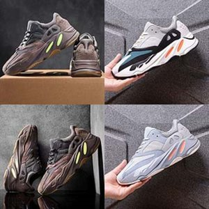 Size 25-46 LED Kanye West 700 Kanye West 700 Shoes For Kids Men'S & Women'S Sneakers With Lights Boys Luminous Kanye West 700 K#755