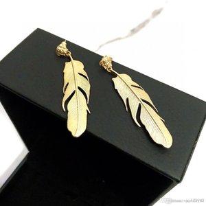 orecchini europee e americane donne gioielli orecchini bellezza avatar firmati dal design di lusso di vendita calda piuma