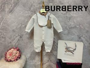 Новые поступления ребенка дети длинный рукав брюки высокого качества хлопка Дети младенца Комбинезон