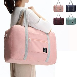 Large Foldable Waterproof Storage Bags Suitcase Travel Pouch Handbag Tote Bag(4 Colors 48x32x16cm )