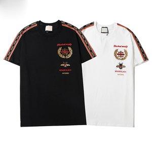 Fashion T Shirt Concise Joker Letter Printing Pure Cotton Round Neck T Shirt Men Women Couple Justin Bieber Gosha Tee HFWPTX002
