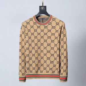 European Sweatshirts 20FW Round Neck SWEATER High Quality Comfortable Casual Style Fashion Sweatshirts Eight Color