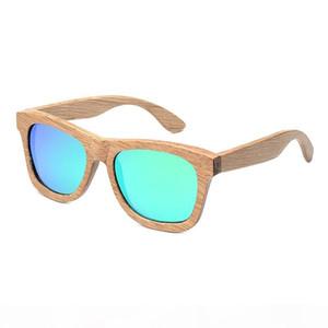 BOBO BIRD New Fashion Handmade Wood Wooden Sunglasses Cute Design for Men Women gafas de sol steampunk Cool Sun Glasses BS04
