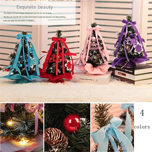 30cm LED Artificial Tabletop Christmas Mini Tree Decorations Festival Glowing Miniature Tree decor #1129 A#487