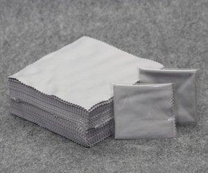 100 lumière gris nettoyage des verres de nettoyage ultra-fines lunettes de fibres aiguille de lentille de tissu en tissu trois Sun