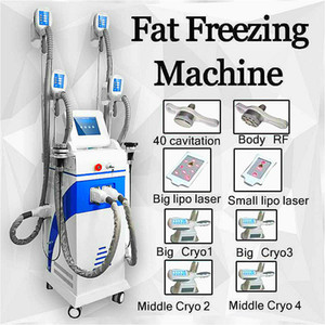 Cryolipolysis Slimming Ce Approved Best Fat Freezing Machine Cryo Body Slimming Machine 4 Handles For Weight Reduce Etg40-5S