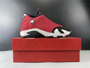 2020 OG Gym Red Jumpman 14 14S Hommes Chaussures de basket fibre de carbone entraîneur des hommes de sport Athletic Chaussures Taille 7-13 487471-006