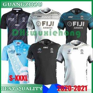 뉴스 2020 2021 FIJI 홈 멀리 유니폼 러닝 리그 럭비 셔츠 피지 2020 2021 2019 럭비 셔츠 사이즈 S-XXXL를 7S