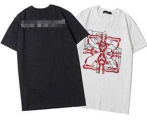 Livraison gratuite Luxurymen Designertshirts été TShirt grue d'impression Designertshirt Hip Hop Mode Hommes Femmes manches courtes T-shirts 2096