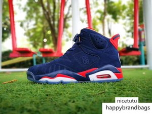 Best quality Jumpman VI DB 6 Doernbecher Sports Basketball Shoes Red Blue 6s Designer Shoes Mens Shoes Athentic Sneakers 40-47