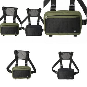 Streetwear Waist Backpack Bag Dead Fly Alyx Chest Rig Bags Multifunctional Hanging Backpacks Horizontal Square Canvas 25 9hd B2