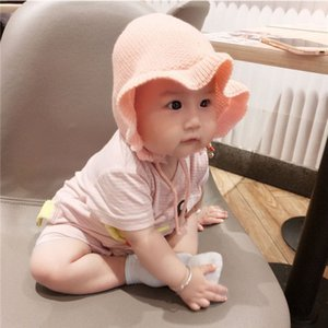wool girl Fisherman baby pullover baby knitted fisherman hundred days princess hat children pullover hat
