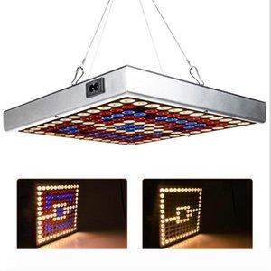 10pcs mise à niveau 45W LED Panel Jardin LED Full Spectrum UV IR hydroponique Les plantes à effet de serre de croissance Cultivez Tente Lumière