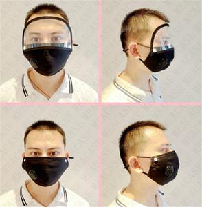 Masque adulte amovible pour les femmes et les hommes amovibles Masques ajustables Protection Solaire Yeux Masques Visage Couverture avec la respiration Valve 5 couleurs D71511