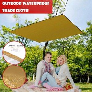 Impermeabile Shade Sails Anti-UV per Giardino Yard pieghevole Canopy all'aperto stuoia di picnic della protezione solare Ombra panno Nets portatili