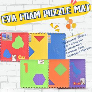 TW1910038 EVA puzzle del bambino stuoia strisciante 6 parti / insieme in schiuma EVA stuoia di puzzle materiale ecologico Eco Friendly