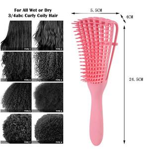 Bize 149 22 Offadjust Saç Fırçası Saç Derisi Masaj Tarak Kadınlar detangle Hairbrush Sağlık Tarak azaltın Yorgunluk İçin Salon Kuaförlük pnQxW