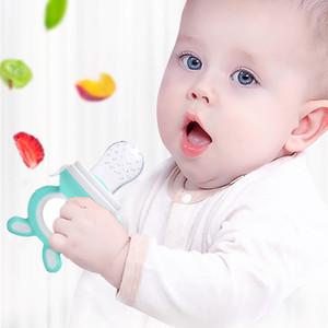 Baby nipple Fresh Food Nibbler Baby Pacifiers Feeder Kids Fruit feeding nipple Safe Supplies Nipple Teat Pacifier Bottles