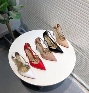 2020 new style ladies high heel designer design fashion women's shoes red dress shoes F1