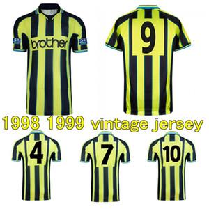 1998 1999 de fútbol Paul Dickov Goater Wiekens Jersey retro 98 99 Michael Brown Jeff Whitley Horlock distancia clásica camiseta de fútbol de la vendimia