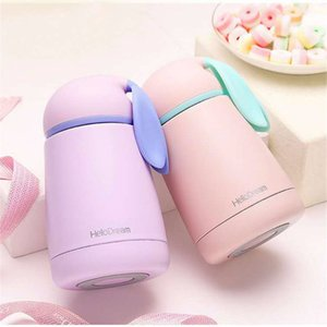 Rabbit Thermo Cup Stainless Steel kids Thermos bottle For water Thermo Mug Cute Thermal vacuum flask children Tumbler Thermocup