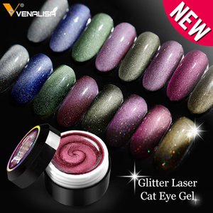 Enamel Gel Nail Art Glitter Laser 9D Magnetic Cat Eye Paint Varnish Meteorite Aerolite Cat Eyes Gel Nail Polish Lacquer
