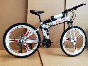 dağ bisikleti lityum pili Katlanan yetişkin dağ bisikleti elektrikli dağ bisikleti yardımcı olur