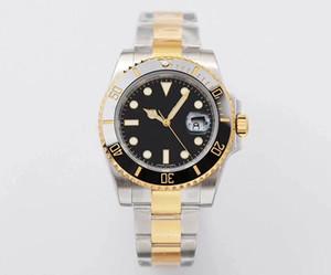 Yedi stilleri iş Paslanmaz çelik siyah erkek montre de luxe Tam otomatik makine erkek saatler takvim hareketi Saatler montre rolex izle