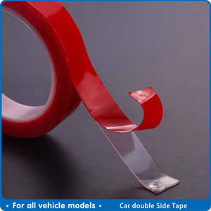 utomobiles & Motorcycles Automobile Special Double-sided Tape High Strength Transparent Glue No Traces Sticker Auto Double Face Tape adhe...