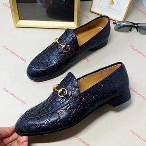 Xshfbcl Men Formal Business Brogue Shoes lusso Men's Crocodile Dress Shoes Male Casual Genuine Leather Wedding Party Loafers Plus Size 47