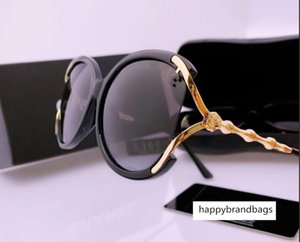 2020 female polarized designer sunglasses casual new style glasses texture super personality with box full set