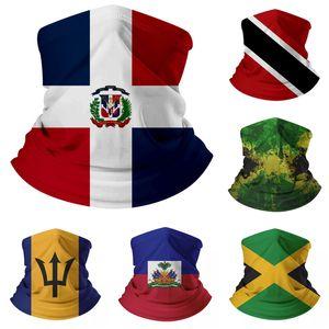 Мода Мексика США Американский флаг Волшебный шарф Многофункциональный маска Открытый Спорт Головные уборы Шарфы для велоспорта