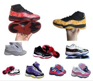 2020 Air mens Snakeskin NakeskinJordanRetro Basketball Shoes 11s VAST GREY bred Concord 45 23 GAMMA BLUE 11 low Bred men sports sn